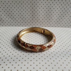 Goldtone Bangle